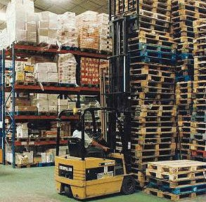 Marketplace of pallet in europe